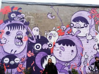 Montreal street art www.taylorstracks.com
