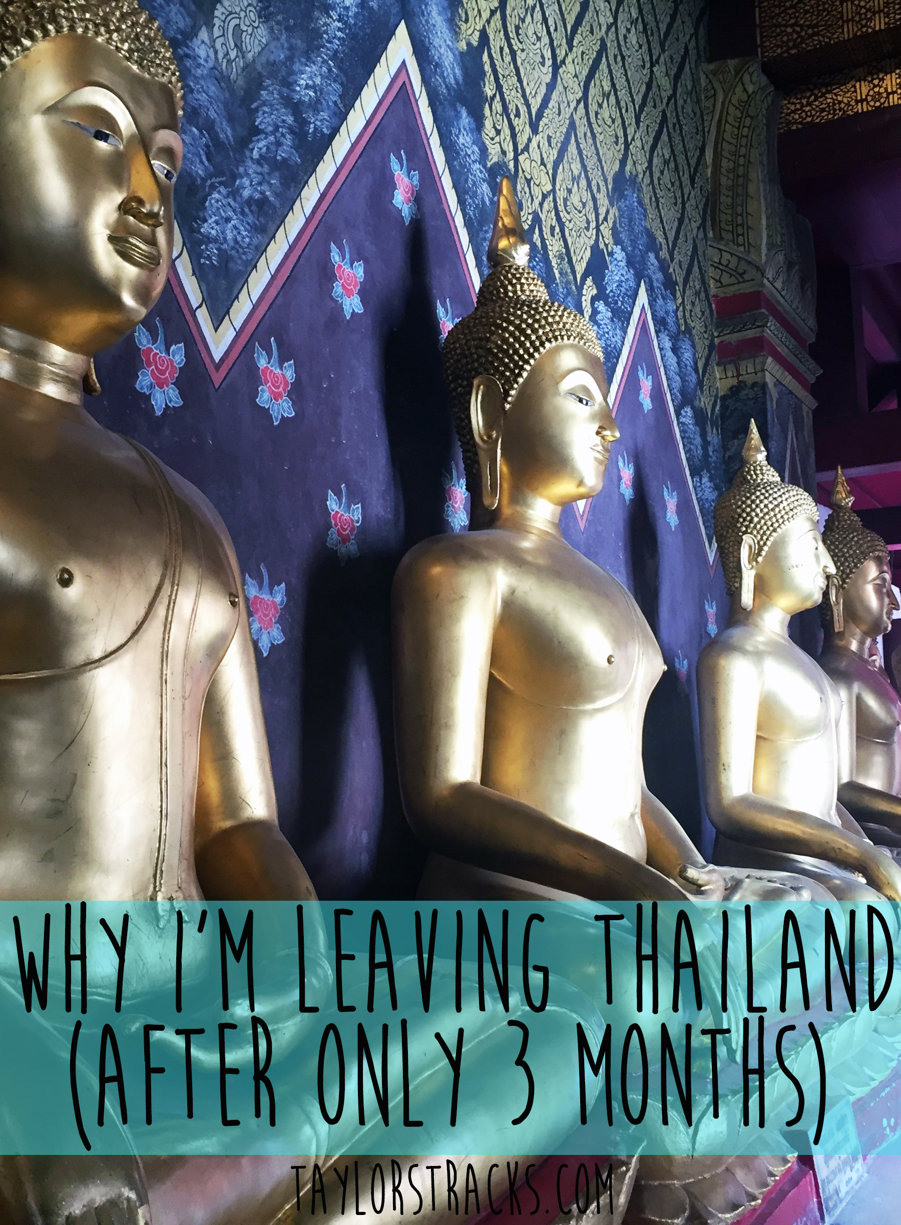 Why I'm Leaving Thailand