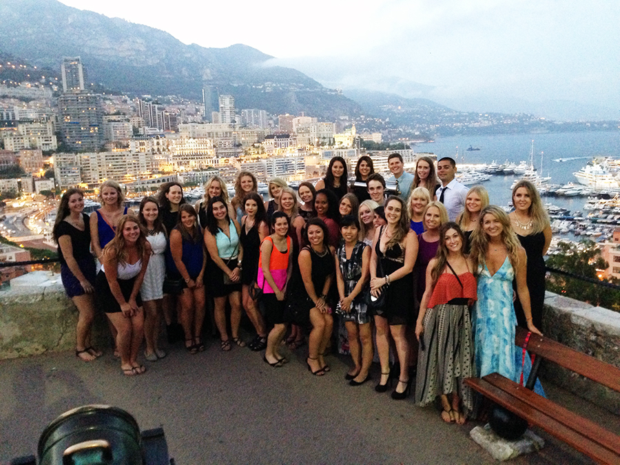 Monaco Contiki Group Tours www.taylorstracks.com