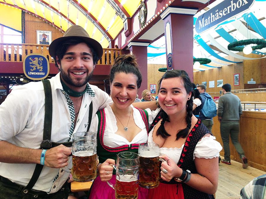 Oktoberfest Friends www.taylorstracks.com
