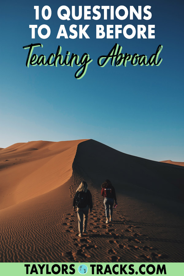 Thinking of teaching English as a second language but aren't sure if it's right for you? Ask yourself these questions and you'll know if you're prepared to embark on teaching English abroad as a temporary or permanent career. Click to read the questions! #teacherlife #teaching #tefl #teachenglish #english ***** Teach English abroad | Teach English online | Teach English to kids | Teach English as a second language | Teach abroad | Make money online