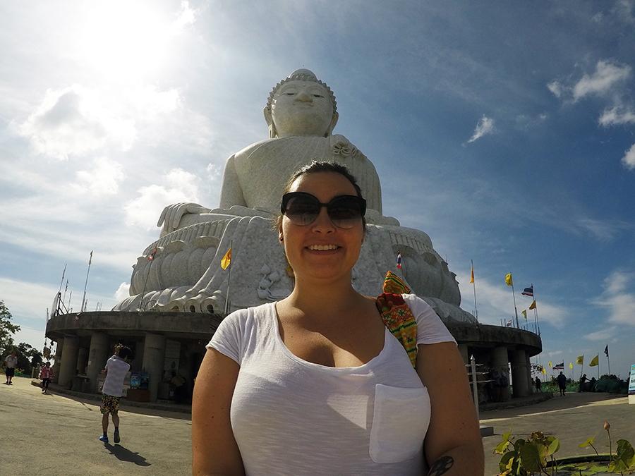GoPro for travel Big Buddha www.taylorstracks.com