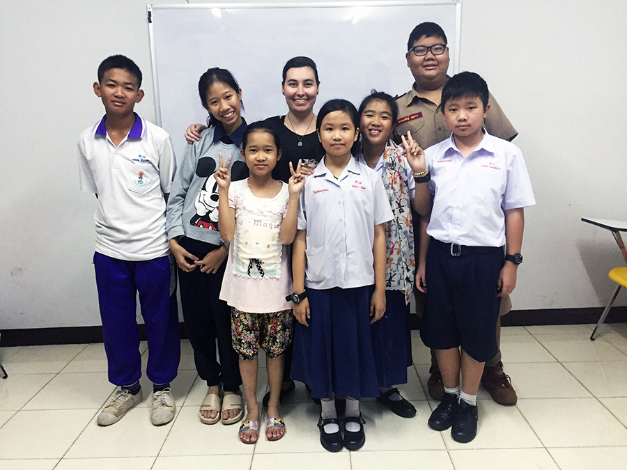 Teach English in Thailand www.taylorstracks.com