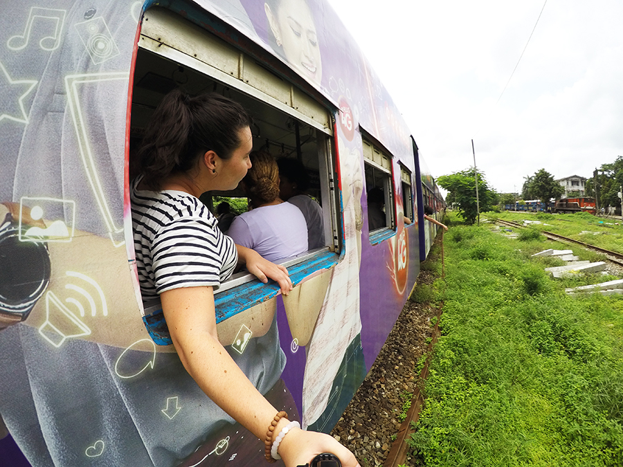 Circle Train Yangon www.taylorstracks.com