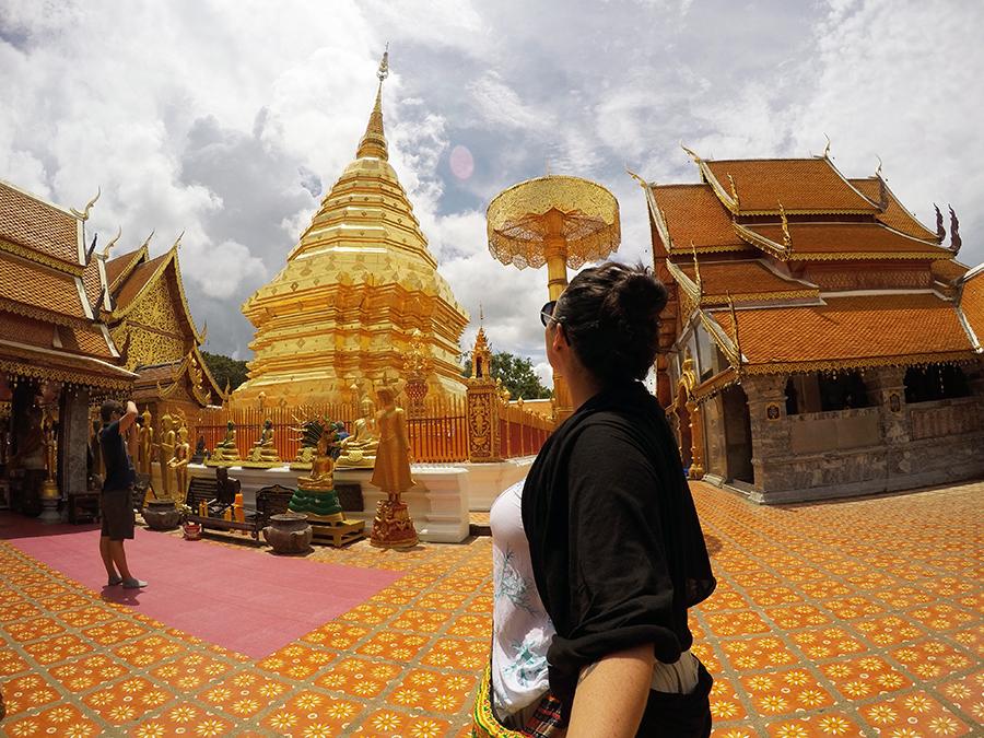 Temple Hopping Chiang Mai www.taylorstracks.com