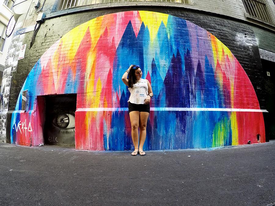 Degraves Street Melbourne Street Art www.taylorstracks.com