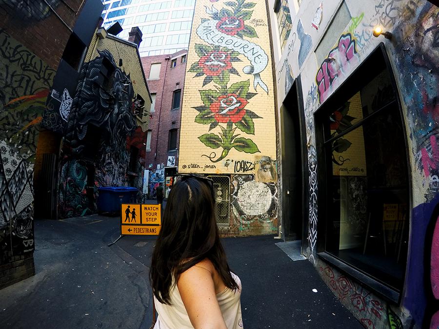 Duckboard Place Melbourne Street Art www.taylorstracks.com