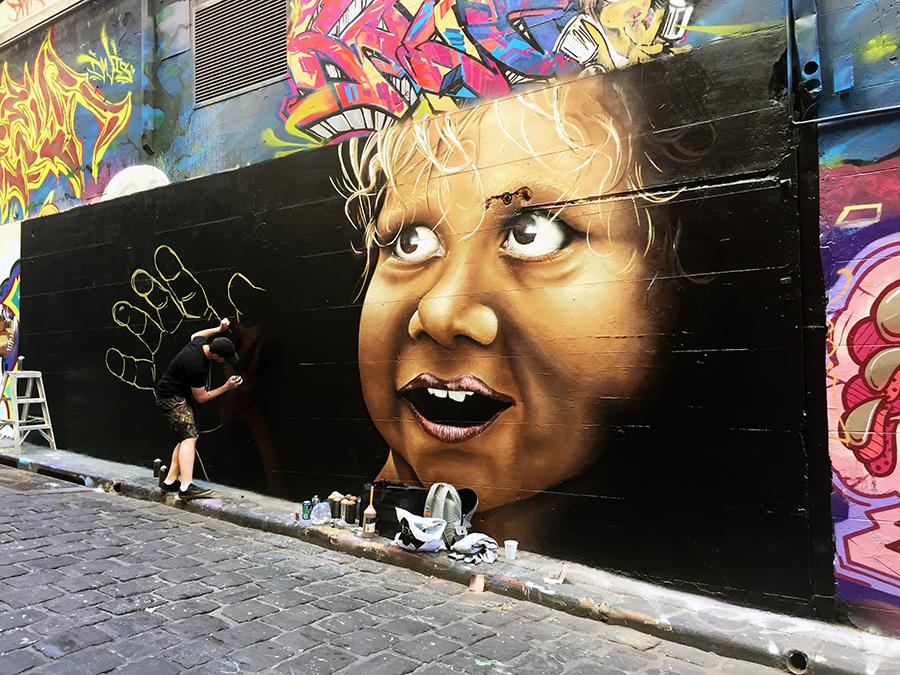 Hosier Lane 2 Melbourne Street Art www.taylorstracks.com