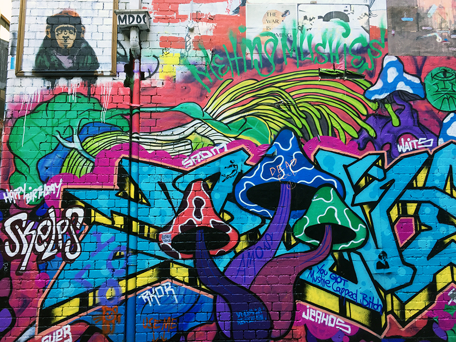 Hosier Lane Melbourne Street Art www.taylorstracks.com