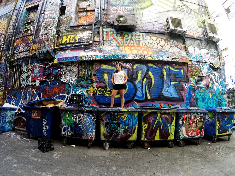 Rutledge Lane Melbourne Street Art www.taylorstracks.com
