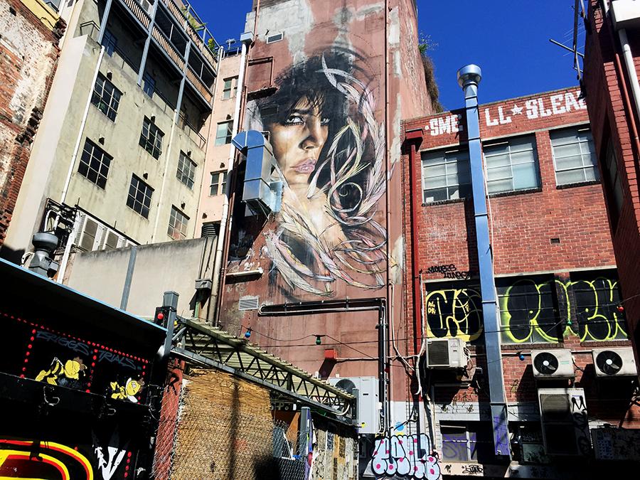 Tattersalls Lane Melbourne Street Art www.taylorstracks.com