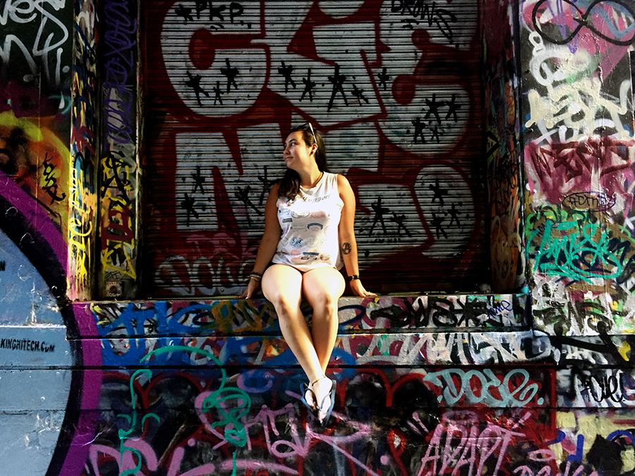 Union Lane 2 Melbourne Street Art www.taylorstracks.com