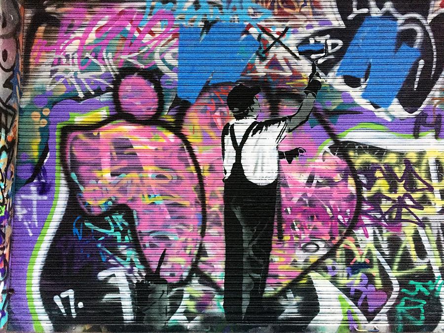 Union Lane Melbourne Street Art www.taylorstracks.com