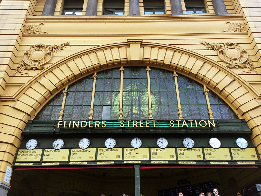 Flinders Street Station www.taylorstracks.com