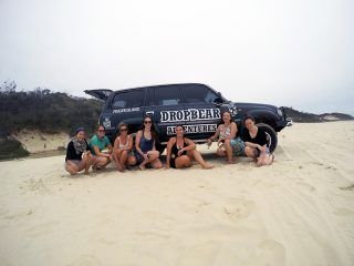 Drop Bear Adventures Fraser Island Tours www.taylorstracks.com