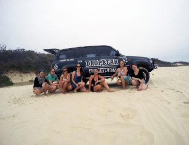 Drop Bear Adventures Fraser Island Tours www.taylorstracks.com