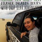 Fraser Island Tours with Dropbear Adventures www.taylorstracks.com