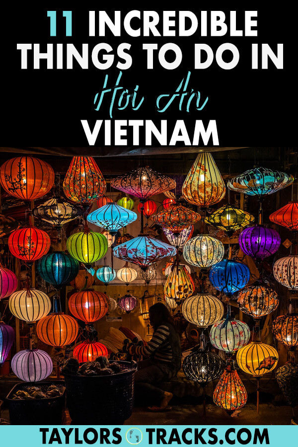 Discover the best of Vietnam travel with this destination, Hoi An. There are plenty of things to do in Hoi An and this Hoi An guide will help you plan your Hoi An trip and create the perfect Vietnam itinerary. Click to find awesome things to do like Hoi An Old Town, Hoi An market, Hoi An tailors and more. #travel #vietnam #traveltips