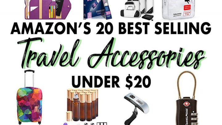 Amazon's 20 Best Selling Travel Accessories Under $20 (UPDATED 2018)