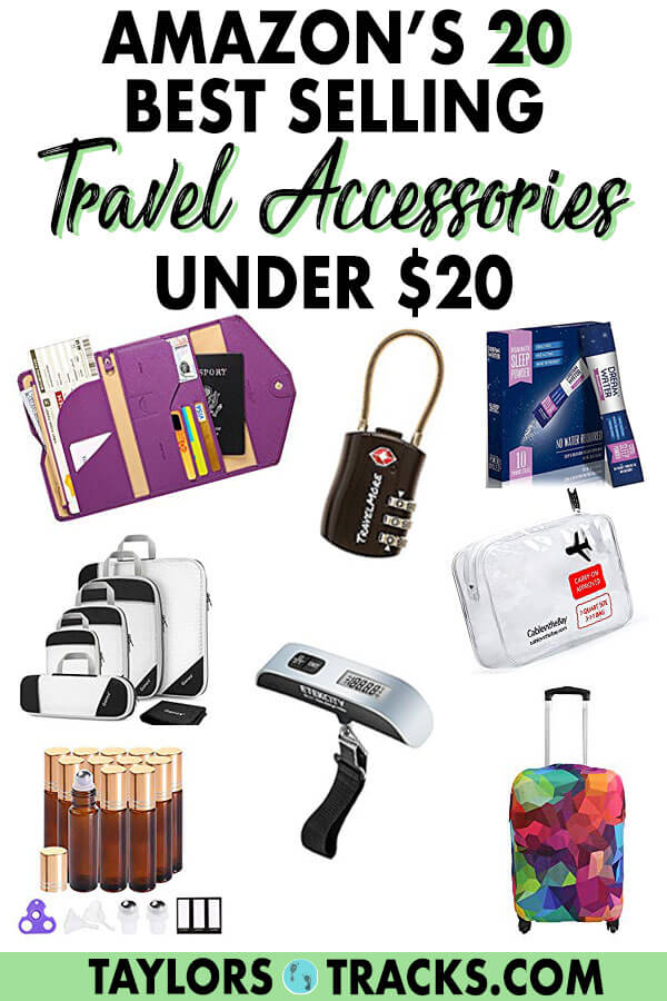 These travel accessories are going to make travelling a whole lot easier! The best part is that they're under $20. Don't miss scoring on a product that many travellers keep as their favourite travel tips and tricks! #travel #budgettravel #travelaccessories #accessories