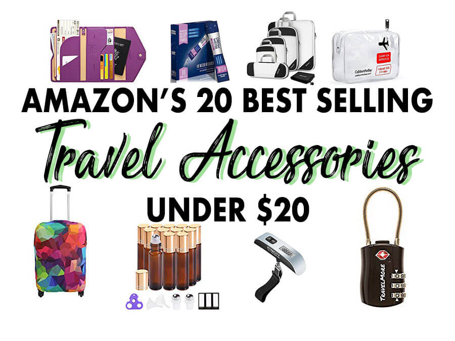 Amazon's 20 Best Selling Travel Accessories Under $20