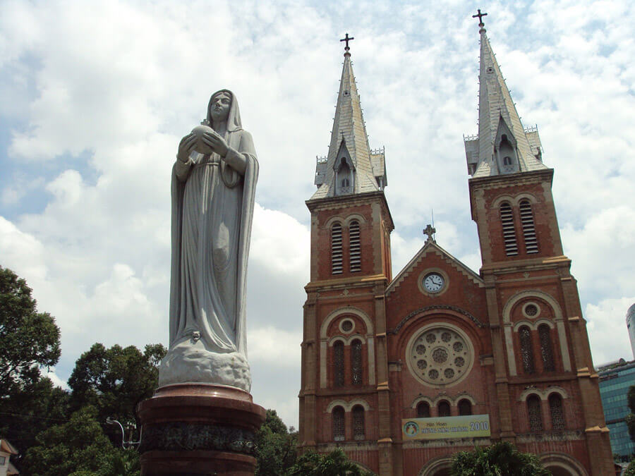 Ho Chi Minh City Vietnam | Notre Dame Cathedral | Things to do in Ho Chi Minh