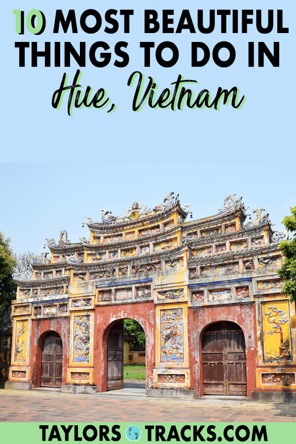 Discover the best of Vietnam travel with this destination, Hue. There are plenty of things to do in Hue and this Hue guide will help you plan your Hue trip and create the perfect Vietnam itinerary. Click to find awesome things to do like the Hue Citadel, learn about the Hue Vietnam war and more. #travel #vietnam #traveltips