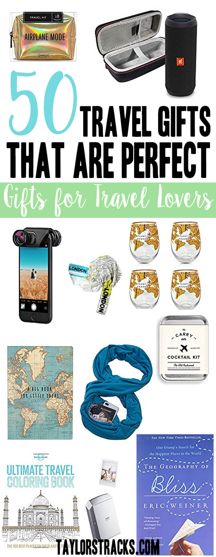 Travel gift ideas | Travel gifts | Travel gift ideas for him | Travel gift ideas for women | Travel present | Travel present ideas