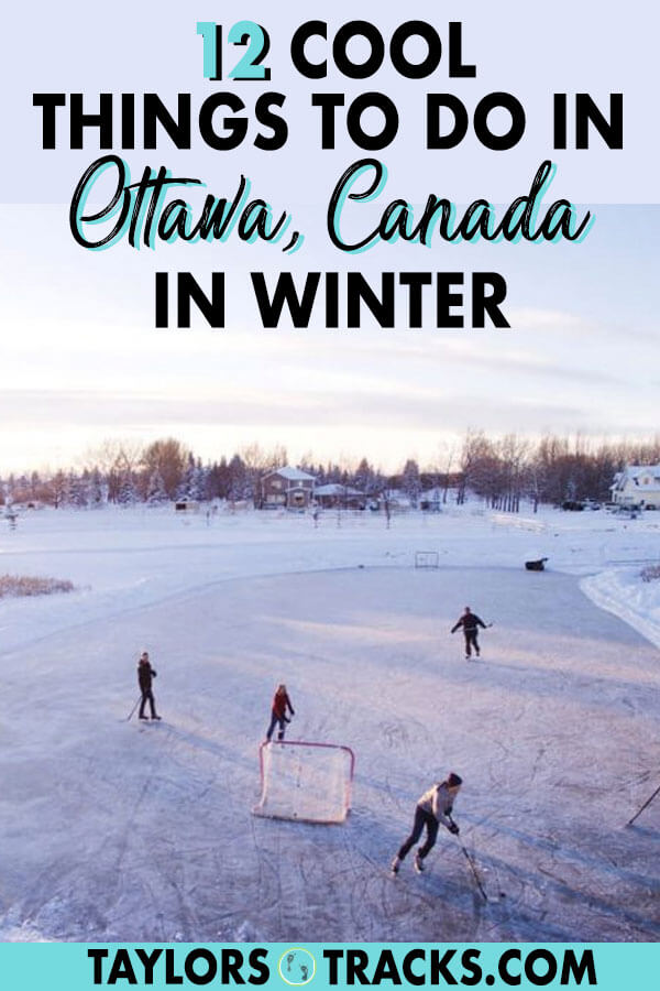 Canada's capital, Ottawa, is not a place to be skipped just because it's winter. The city is still packed with Ottawa activities for the season and you'll find plenty of things to do in Ottawa in winter easily. #ottawa #travel #canada #winter #wintertravel