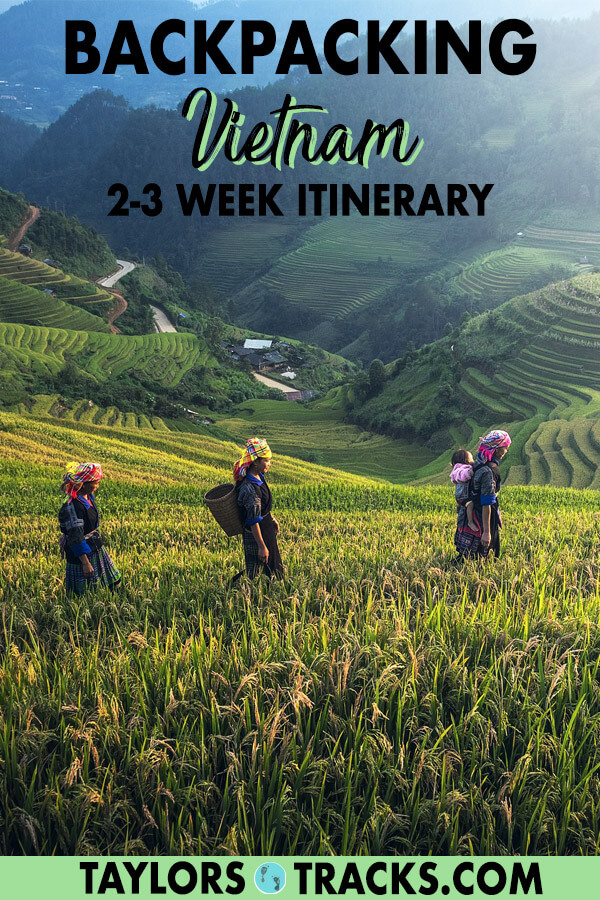 Find out how to plan to perfect Vietnam itinerary for your upcoming Vietnam trip. This Vietnam guide will share the must-know Vietnam travel tips, the best places to visit in Vietnam, where to stay in Vietnam and more. Click to start planning! #vietnam #europe #travel #backpacking #budgettravel
