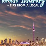 Discover one of Canada's top cities, Toronto with this easy and customizable Toronto itinerary that will give you ideas for 1-4 days in the city. Find the top things to do in Toronto, where to stay in Toronto, Toronto tips and more.