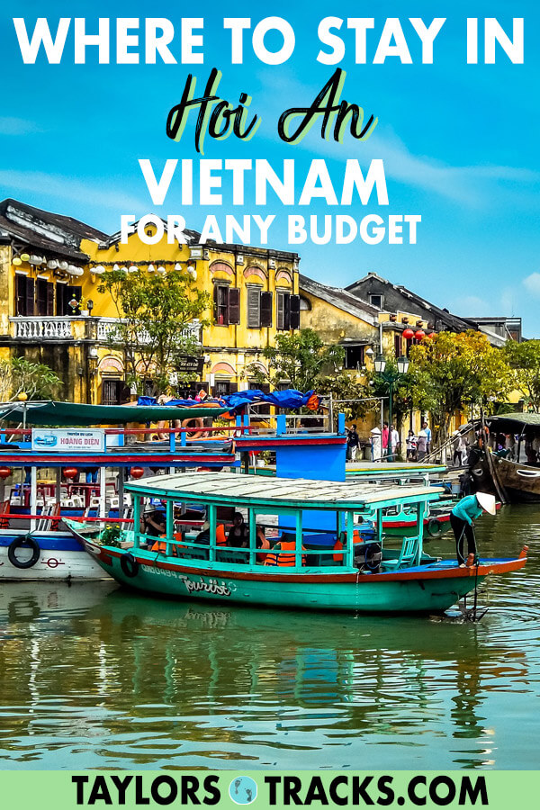 Picking where to stay in Hoi An is made easy with this Hoi An accommodation guide. Click to find the perfect Hoi An hotel or Hoi An hostel! #vietnam #travel #backpacking #budgettravel #luxuryhotels