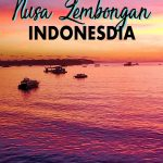 Nusa Lembongan is the perfect day trip or place to visit for 2 days that's close to Bali, has amazingly blue waters and even better beaches! Click to find the best things to do in Nusa Lembongan, where to stay in Nusa Lembongan, a Nusa Lembongan itinerary and more tips for a Nusa islands itinerary!