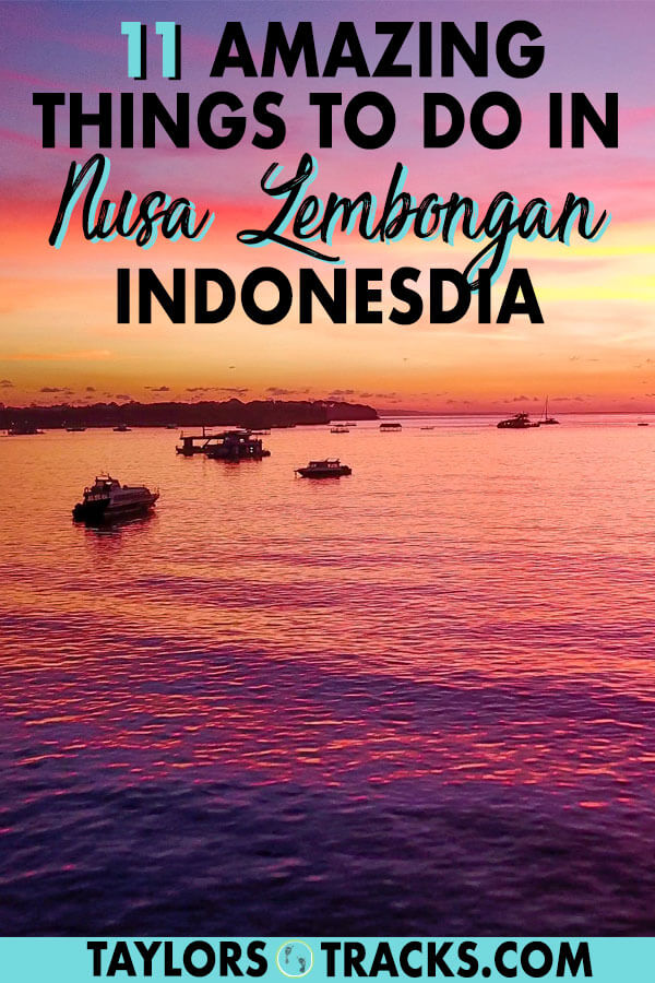 Nusa Lembongan is the perfect day trip or place to visit for 2 days that's close to Bali, has amazingly blue waters and even better beaches! Click to find the best things to do in Nusa Lembongan, where to stay in Nusa Lembongan, a Nusa Lembongan itinerary and more tips for a Nusa islands itinerary! #bali #indonesia #island #beach #southeastasia #travel #backpacking #budgettravel