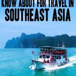 Southeast Asia | Southeast Asia travel | Southeast Asia trip | Travel around Asia | SE Asia travel