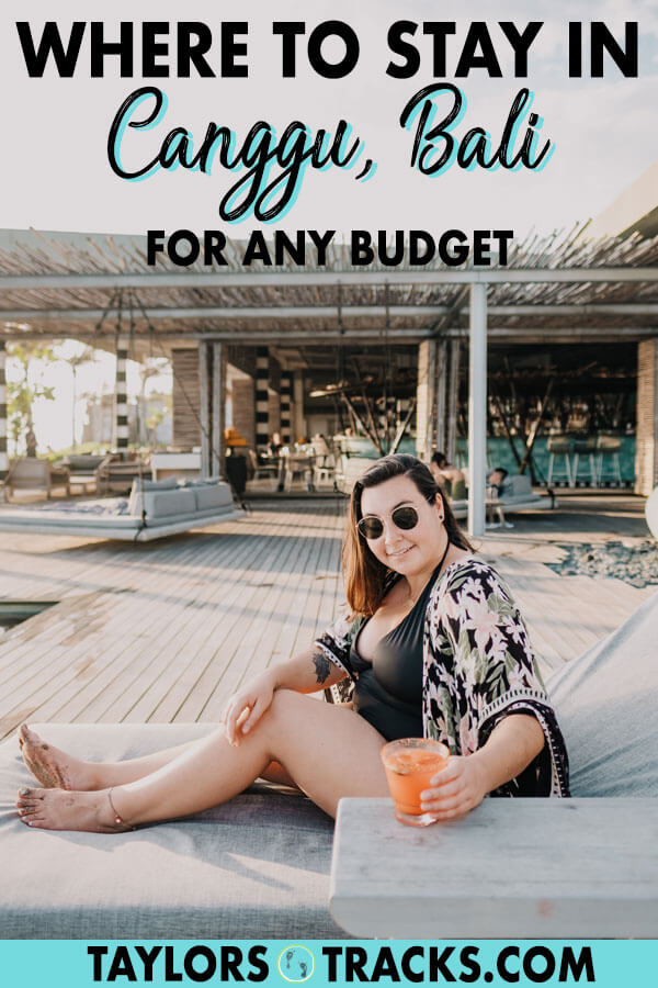 Picking where to stay in Canggu is made easy with this Canggu accommodation guide. Click to find the perfect Canggu villa, Canggu hotel or Canggu hostel! #bali #travel #backpacking #budgettravel #luxuryhotels #indonesia #southeastasia
