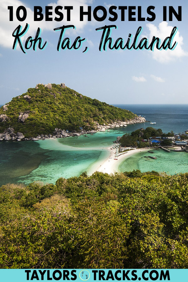 Travelling to Koh Tao Thailand on a budget? These Koh Tao hostels are the top hostels on the island for all budgets. This Koh Tao accommodation guide will help you find where to stay in Koh Tao quick so you can focus on planning your Koh Tao activities instead. #thailand #travel #budgettravel #islandlife #beach #beachlife #thai
