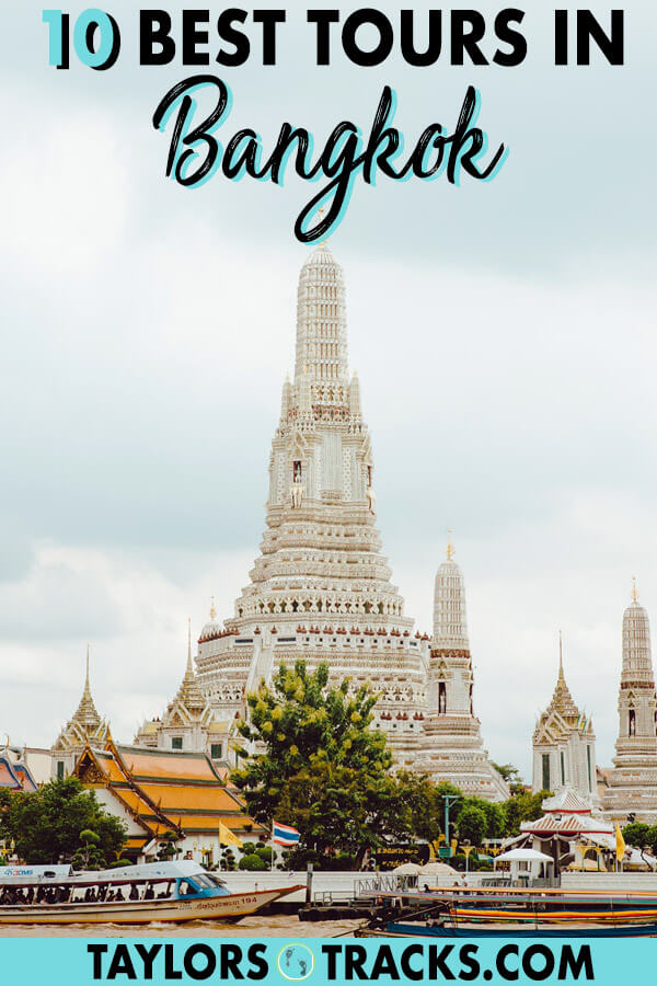 There are so many things to do in Bangkok and some are done best on a tour. These top 10 Bangkok tours will make for the ultimate Bangkok trip. Click to get started on your Bangkok itinerary! #thailand #thai #travel #bangkok