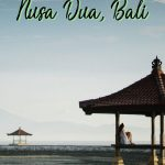 Nusa Dua Bali isn't just the resorts (though those are pretty great too). There are a number of things to do in Nusa Dua that will get you off your resort and exploring Bali. Add Nusa Dua to your Bali trip if you want to chill, see white sand beaches and have some culture at your fingertips.
