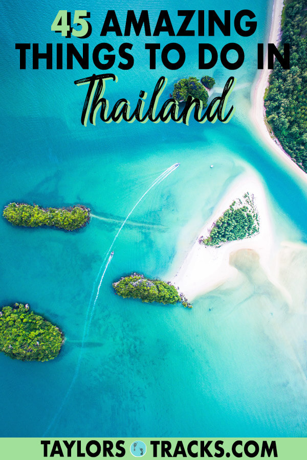 Thailand is a diverse country making Thailand travel exciting from north to south. With this list of the best things to do in Thailand you'll be able to create the ideal Thailand itinerary around what to do in Thailand and decide where to go in Thailand. Click to start planning your Thailand trip! #travel #budgettravel #islandlife #thailand #thai #beach #beachlife