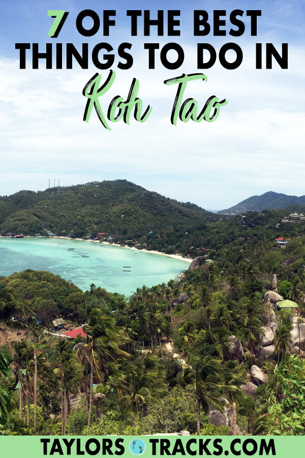 There is so much to know about Thailand travel as there are many destinations. But this list of the best things to do in Koh Tao will help you plan the perfect Koh Tao itinerary as a part of your dream Thailand itinerary. This Koh Tao travel guide will make sure you have the best time. Click to start planning your Koh Tao trip! #travel #budgettravel #islandlife #thailand #thai #beach #beachlife