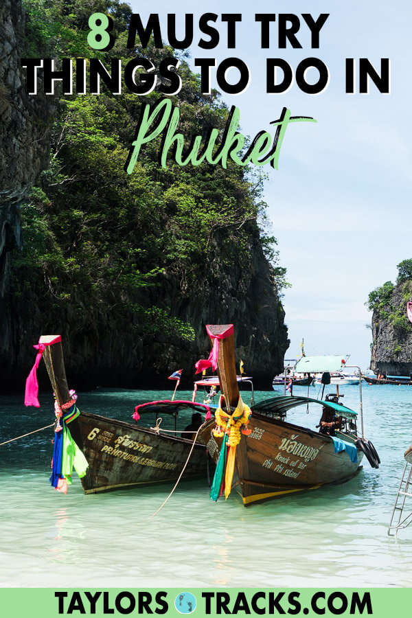 There is so much to know about Thailand travel as there are many destinations. But this list of the best things to do in Phuket will help you plan the perfect Phuket itinerary as a part of your dream Thailand itinerary. This Phuket travel guide will make sure you have the best time. Click to start planning your Phuket trip! #travel #budgettravel #islandlife #thailand #thai #phuket #beach #beachlife