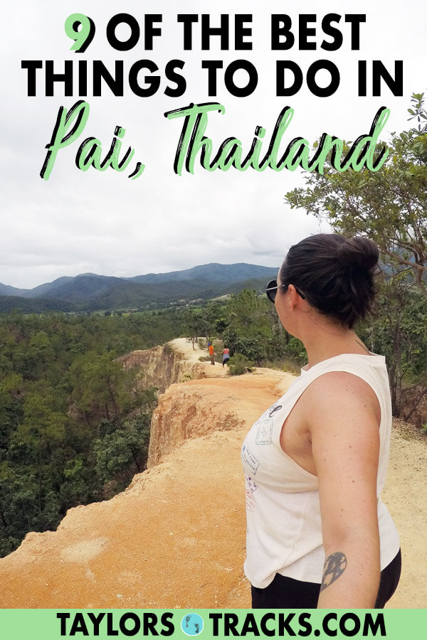 There is so much to know about Thailand travel as there are many destinations. But this list of the best things to do in Pai will help you plan the perfect Pai itinerary as a part of your dream Thailand itinerary. This Pai travel guide will make sure you have the best time. Click to start planning your Pai trip! #travel #budgettravel #thailand #thai