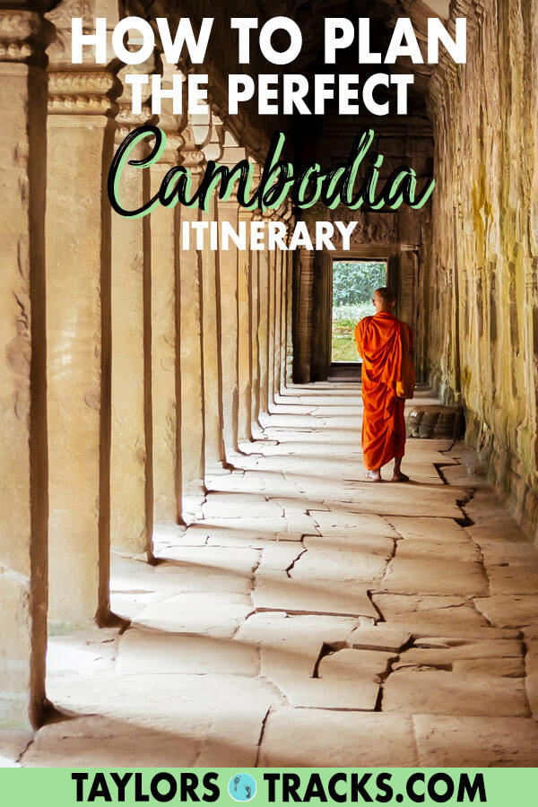 Planning a trip to Cambodia may surprise you with the amount there is to see in the country. This Cambodia travel guide will help you plan the perfect Cambodia itinerary for 1-2 weeks and includes Cambodia travel tips, things to do in Cambodia, where to stay in Cambodia and a Cambodia budget. It covers all of the best places to visit in Cambodia from Siem Reap to Phnom Penh and Koh Rong Island. #cambodia #traveltips #budgettravel