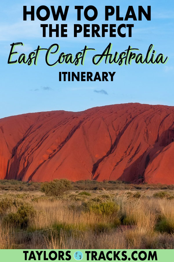 This East Coast Australia itinerary will bring you to all of the best places in Australia along the east coast as well as the Red Centre. Find the best things to do in Australia, where to visit in Australia, Australia travel tips, where to stay in Australia and more from Cairns to Brisbane, Sydney to Melbourne and everything in between. #australia #traveltips #budgettravel