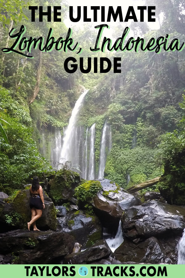 Find the hidden paradise and secret spots on Lombok Island with this ultimate Lombok itinerary. Lombok Indonesia is an incredible island filled with waterfalls, beaches in Kuta Lombok and more. This Lombok travel guide is packed with Lombok travel tips, where to stay in Lombok, the best things to do in Lombok and more. #lombok #indonesia #budgettravel #traveltips