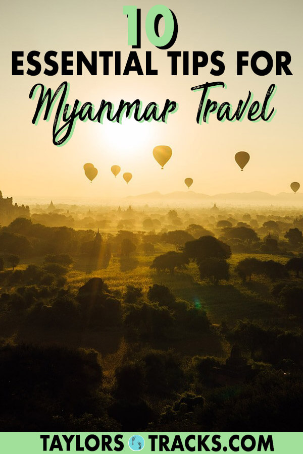 Learn how to travel smoothly with these essential tips for Myanmar travel from Yangon, to Bagan, Mandalay and more. These Myanmar travel tips will help you save money, time and stress. Click to start planning your ultimate Myanmar trip! #myanmar #budgettravel #traveltips