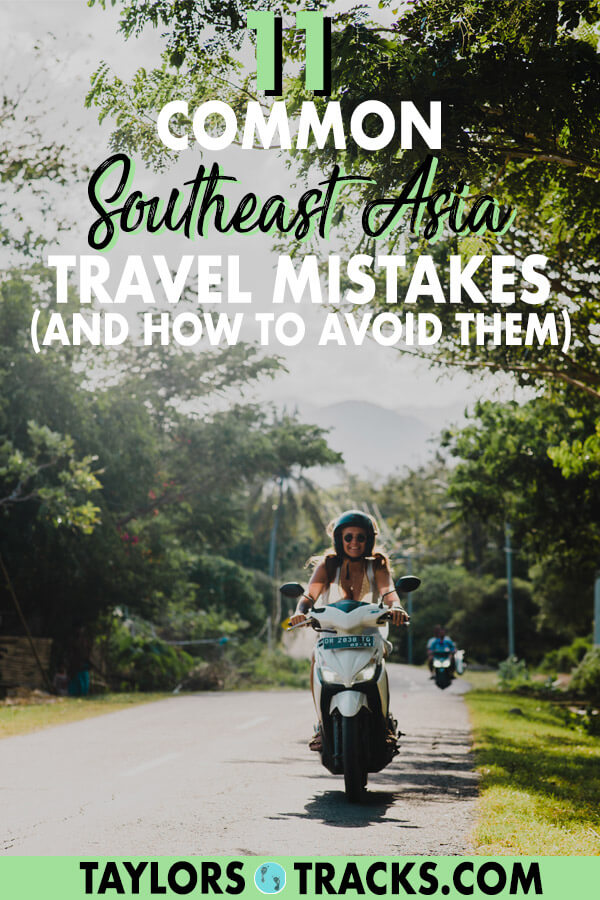 Avoid the most common Southeast Asia travel mistakes with this quick Southeast Asia guide that will help you save money, travel smarter and to know what to look out for in Thailand, Vietnam, Indonesia, Myanmar, Laos, Cambodia and the Philippines. #budgettravel #traveltips