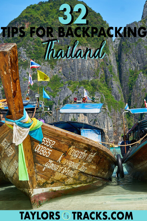 Backpacking Thailand will be a breeze with these 32 Thailand travel tips that will save you money, time and stress. Click to find out how to make your Thailand trip go smoothly! #thailand #traveltips