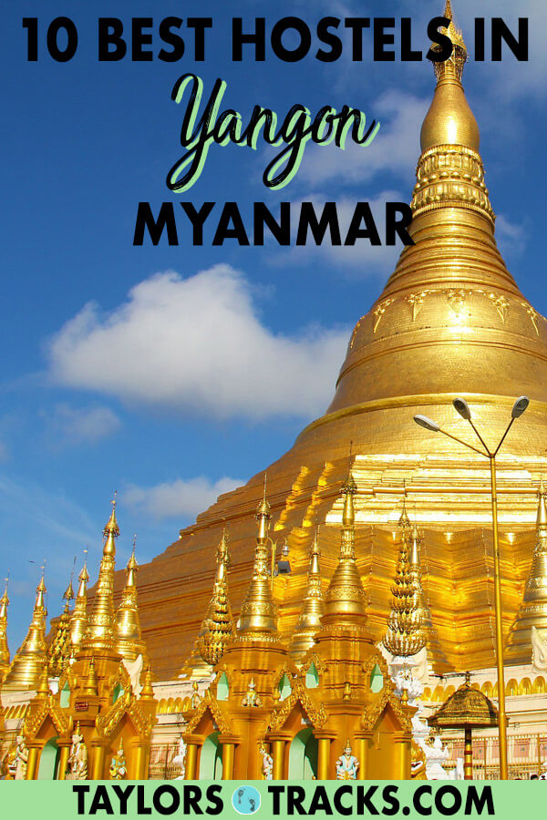 Find where to stay in Yangon Myanmar on a budget. These Yangon hostels have excellent locations and are the best places to stay in Yangon! Click to check availability on your favourite pick! #myanmar #budgettravel #traveltips